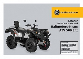Baltmotors ATV 500 EFI